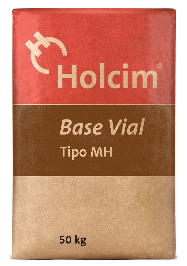 Holcim Base Road is a cement of moderate heat of hydration