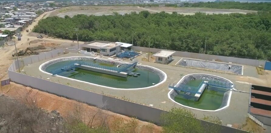 We were part of the construction of the Wastewater Treatment Plant in the Virgen del Cisne 2 neighborhood located in Puerto Bolívar. We use Holcim Ultra Durable, an ideal solution that provides a high level of concrete performance in environments with aggressive sulphates and acidic environments. This work will benefit more than 2,000 families close to the sector.