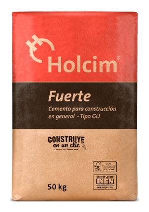 Cement Holcim Fuerte Type GU is designed for all types of construction in general.
